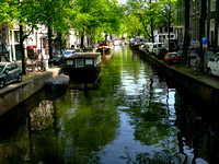 Famous Canals of Amsterdam.