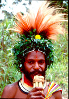 Village life in Papua New Guinea.