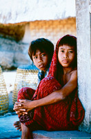 Two boys in Northern Malaysia.