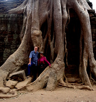 Ta Prohm Complex at Angkor Wat